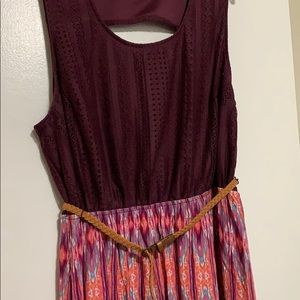Plus Size Maxi Dress with slits on each side